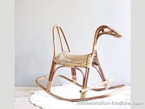 Toy Horse from Rattan